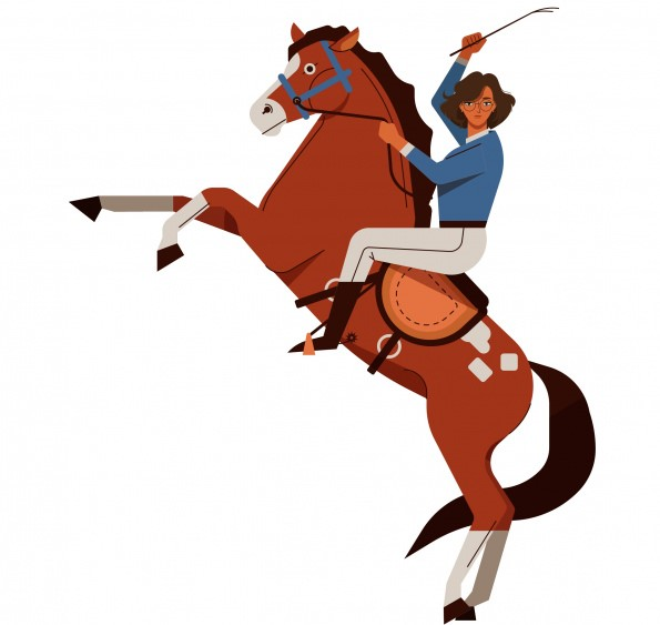 horse riding could be hobbies and passion for kids