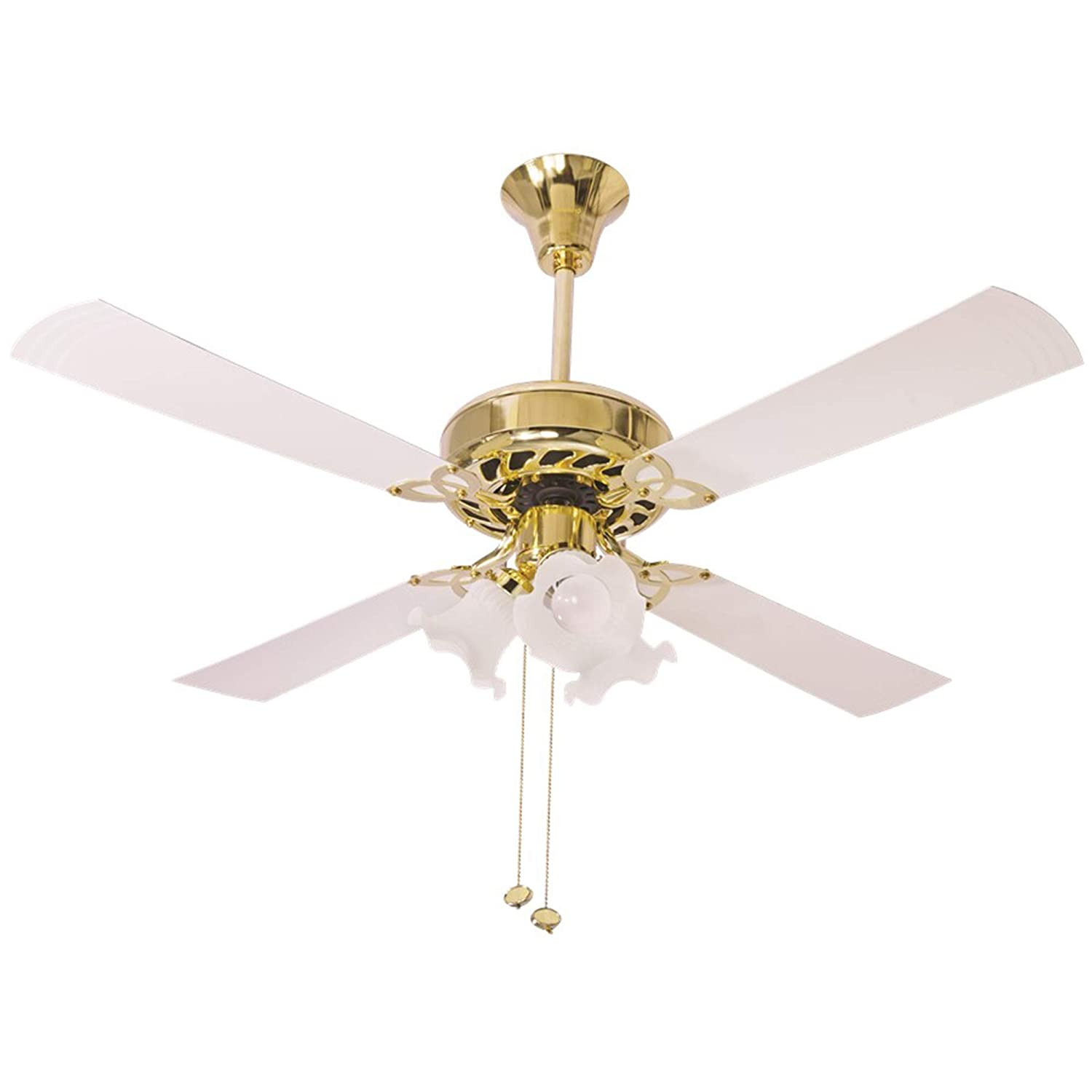 Crompton Metal Uranus 48-Inch Ceiling Fan With Decorative Lights