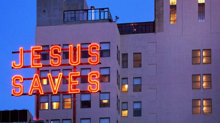 Jesus Saves Downtown LA