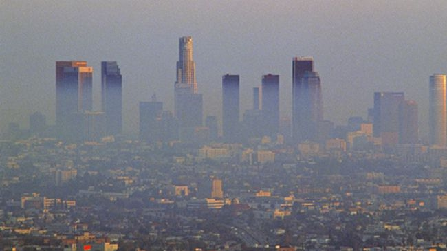 Air pollution in the los angeles