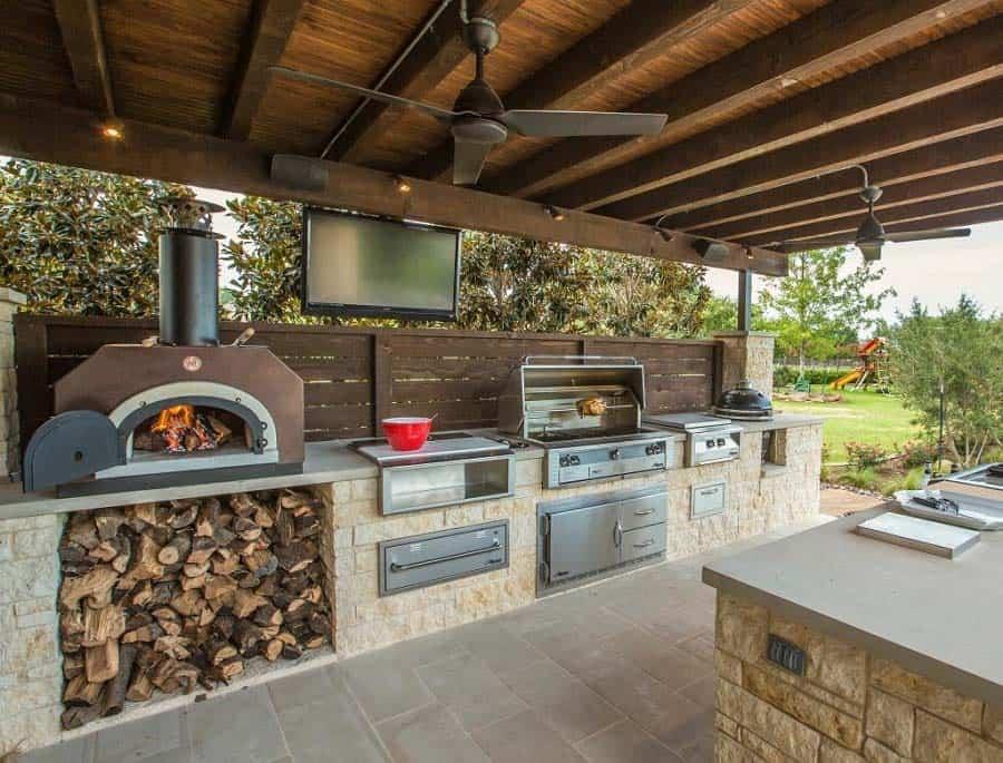 Urban Farm Outdoor Kitchen