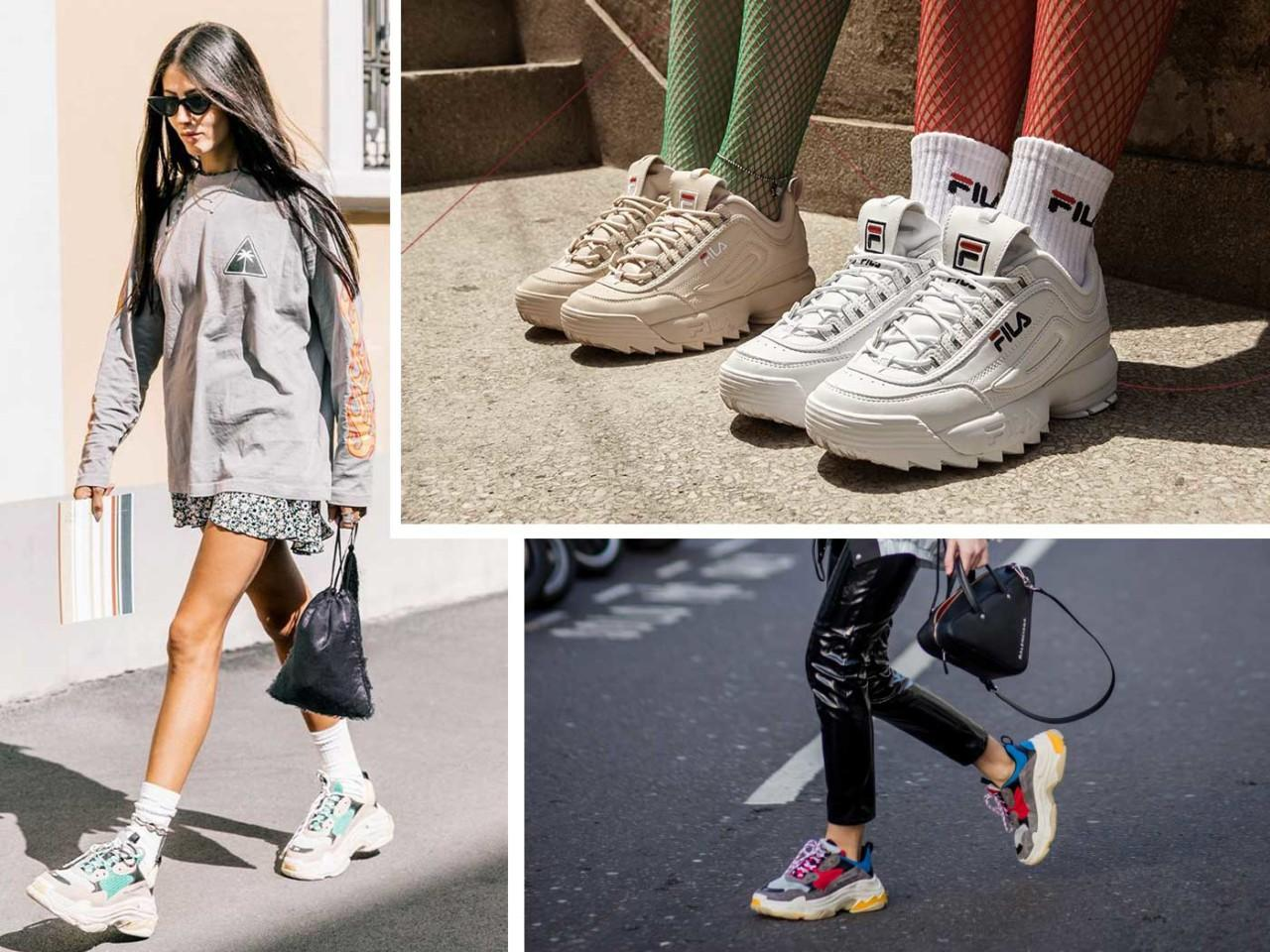 Giày thể thao xu hướng thời trang mới của giới trẻ
