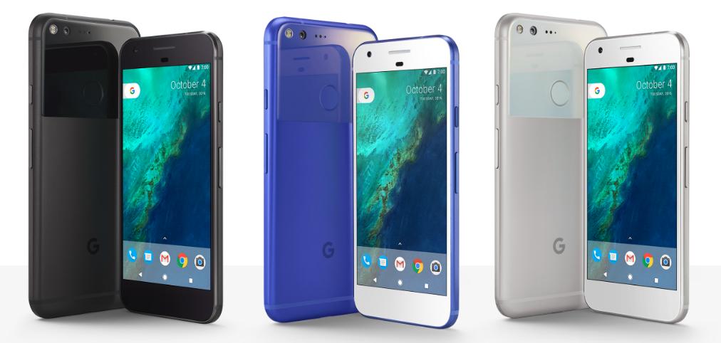 Google Pixel Color options