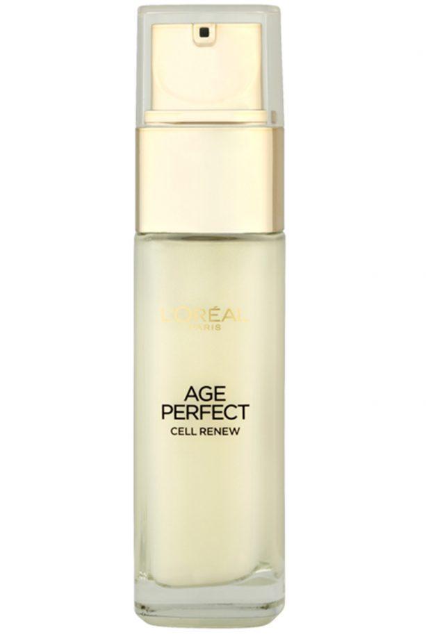 best face serum L'Oreal Paris Age Perfect Cell Renew Golden Serum