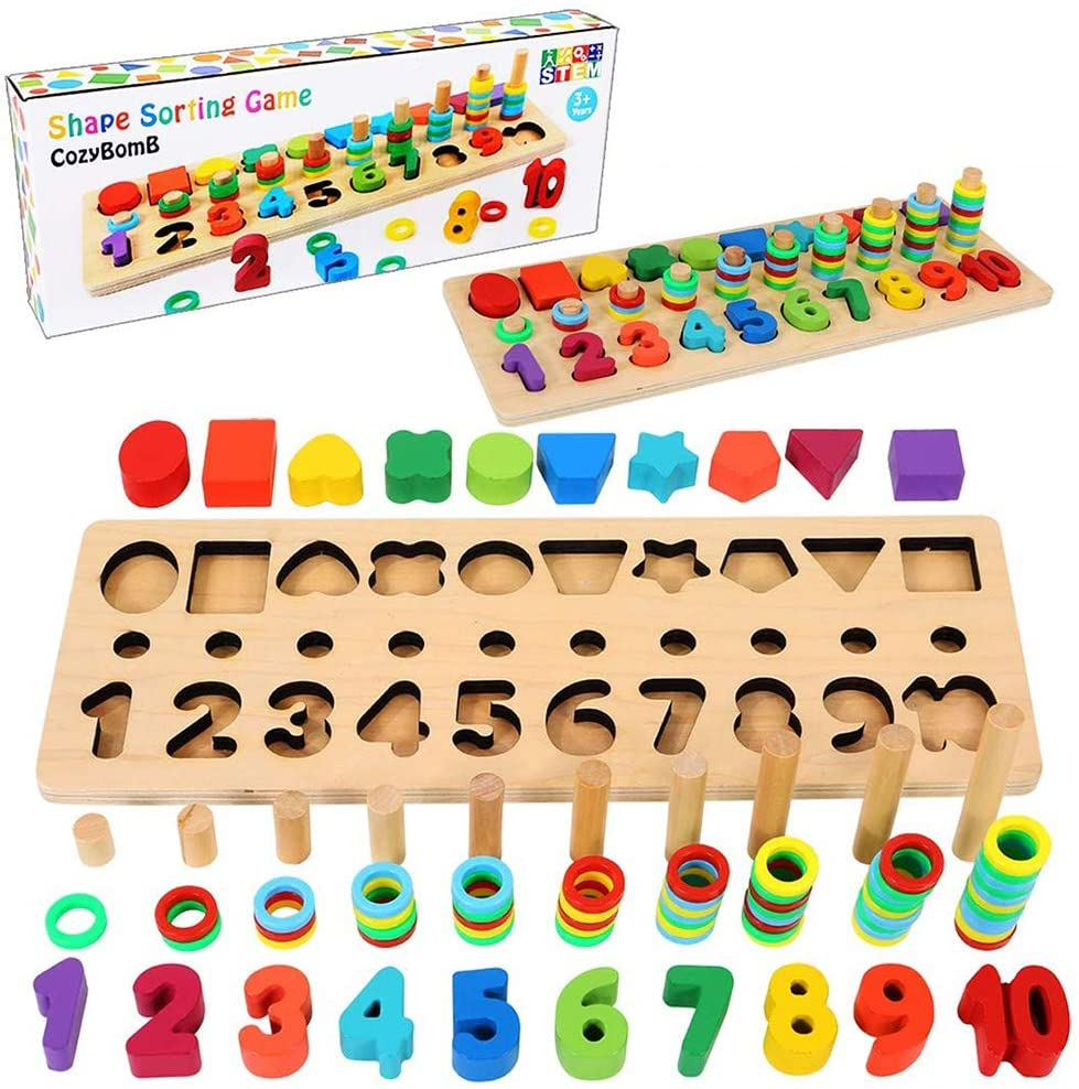 best wooden puzzle set for kids