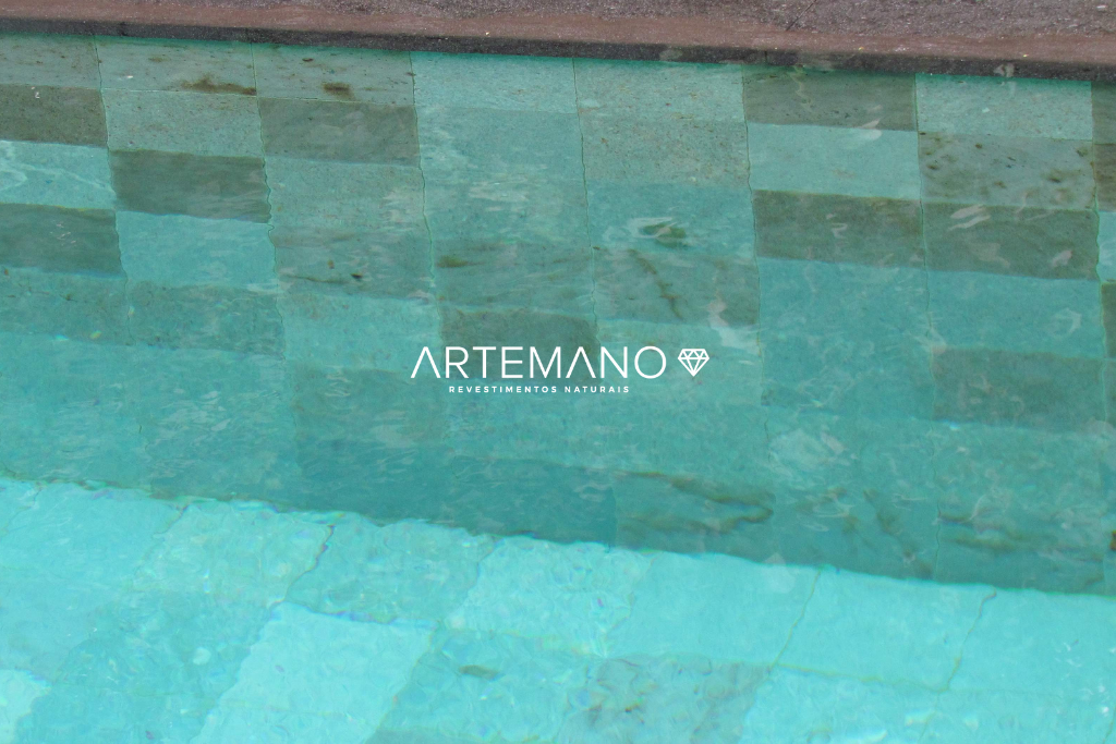 pedra hijau piscina natural revestimentos artemano