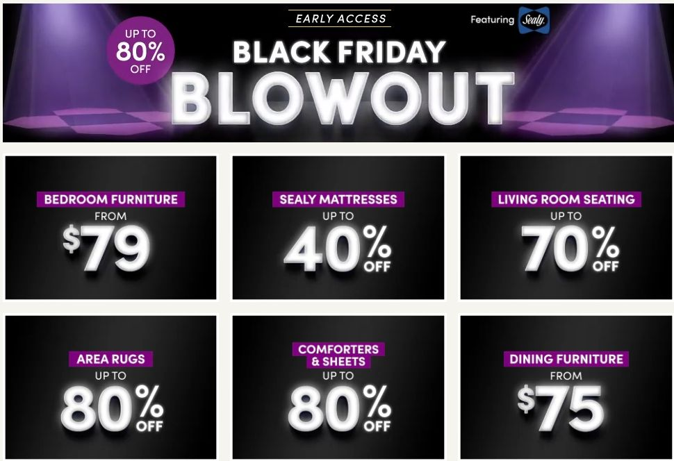 Wayfair Black Friday Sale Deals And Ads 2020 Get Up To 60 Off On Wayfair Furniture Free Shipping