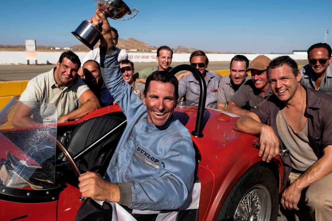 Filmul cu masini de curse Ford vs Ferrari