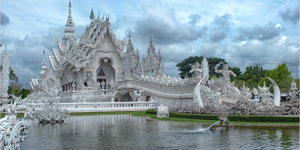 The White Temple- Muse Wat Rong Khun