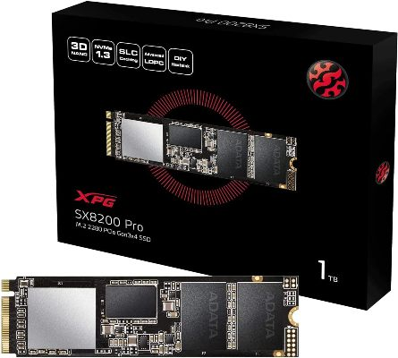 ADATA XPG SX8200 ASX 8200 PNP-1TT-C (Best NVMe 2TB SSD)