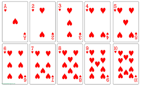 Image result for playing cards template