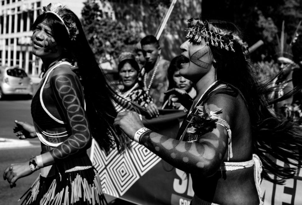 Marcha das mulheres indígenas (Brasília, 2019). Foto: Andressa Zumpano/CPT-MA