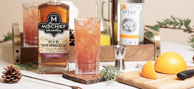 A Bright Winter Cocktail Recipe