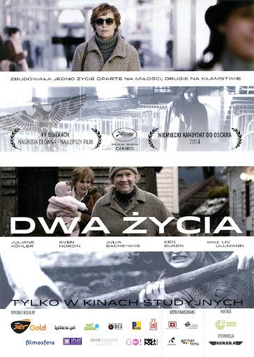 Przód ulotki filmu 'Dwa Życia'