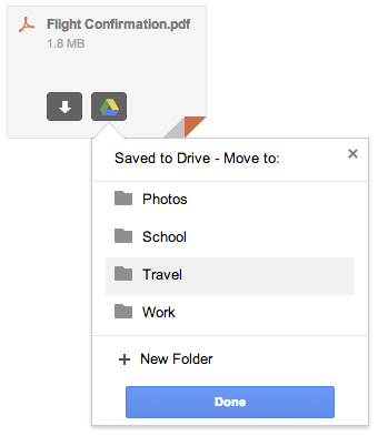 How to Save Gmail Attachments to Drive