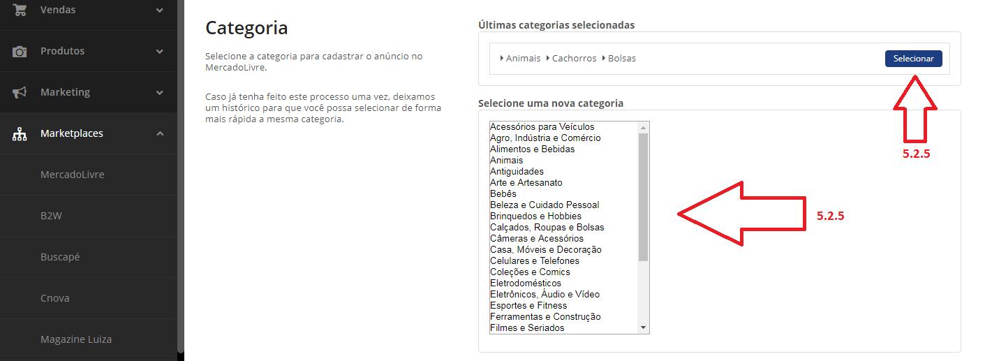 3edfa12ee Mercado Livre - Integração e Configurações – Central de Atendimento