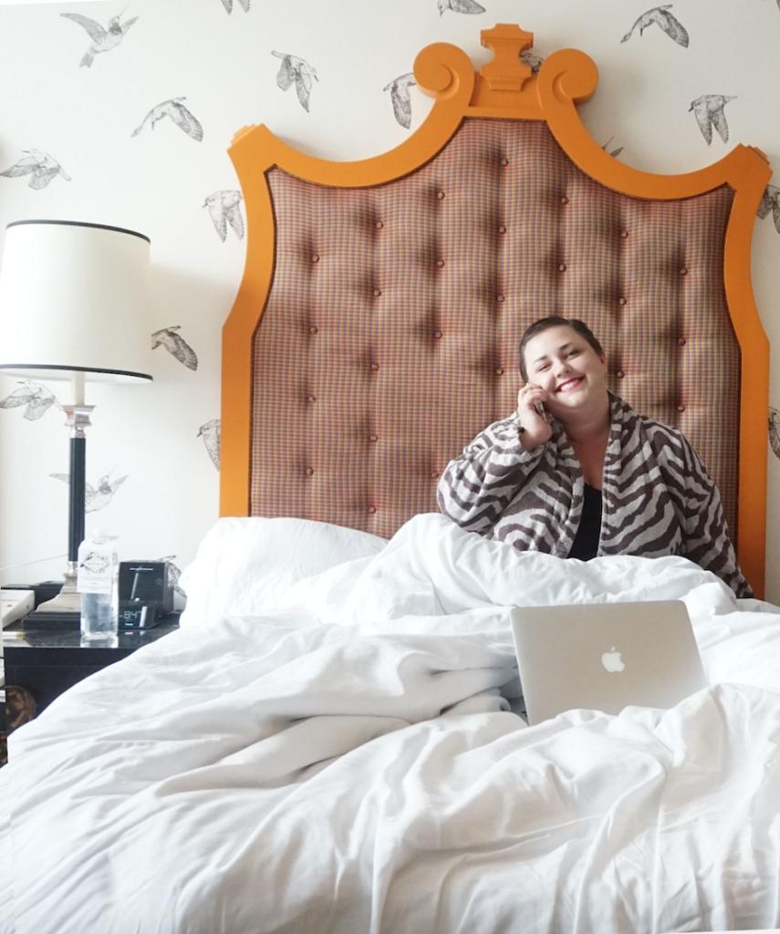 LGBT Plus Size Travel Blogger The Huntswoman Brianne Huntsman