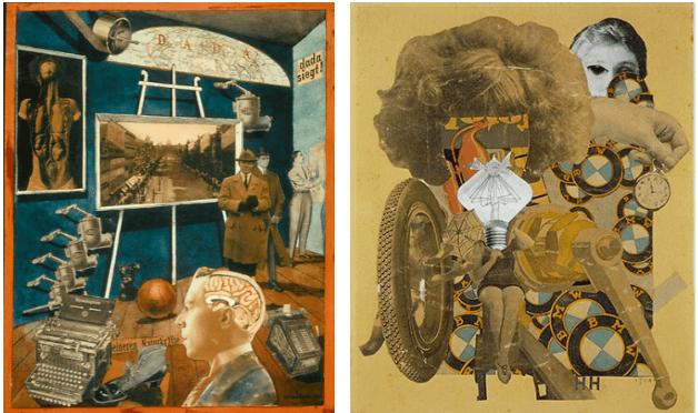 Well-known Dadaism designs.