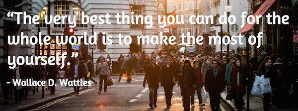 The very best thing...