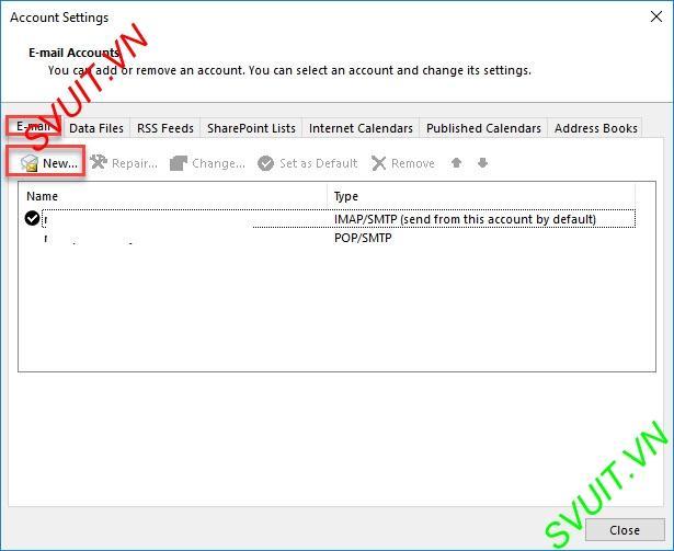Xóa thư trên webmail và giữ lại trên Outlook (3)