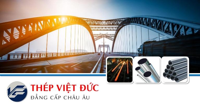 Thép Việt Đức là doanh nghiệp sản xuất thép xây dựng hàng đầu Việt Nam
