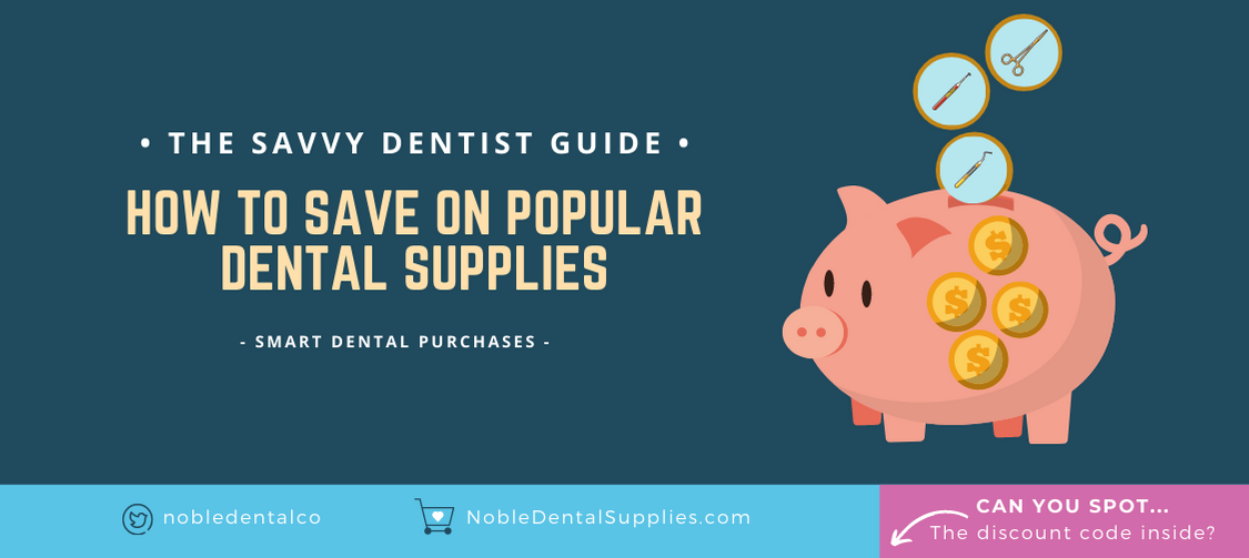 How to save on popular dental supplies