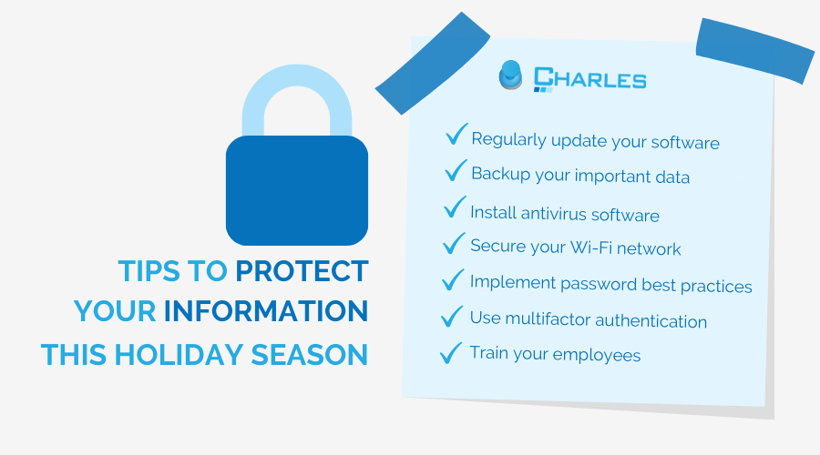 Tips for Data Protection this Holiday Season