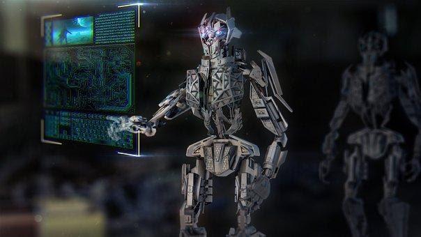 Robot, Mech, Machine, Technology, Urban