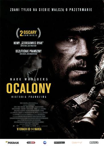 Przód ulotki filmu 'Ocalony'