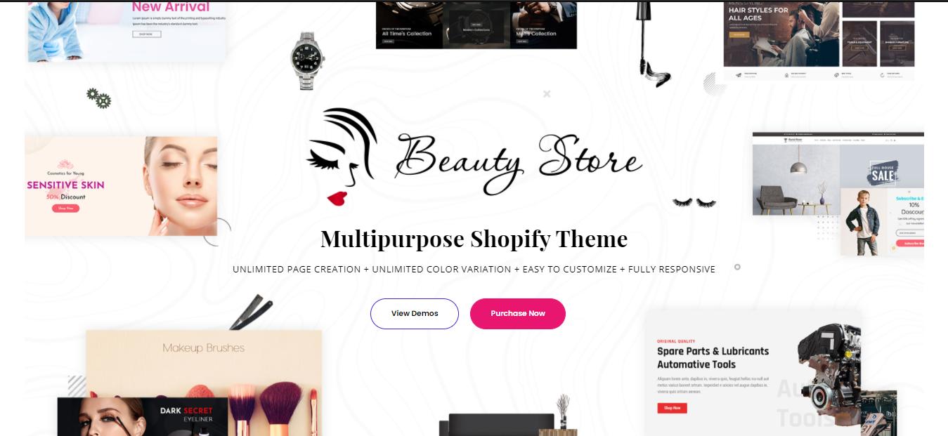 Beauty Store - Spa shopify theme