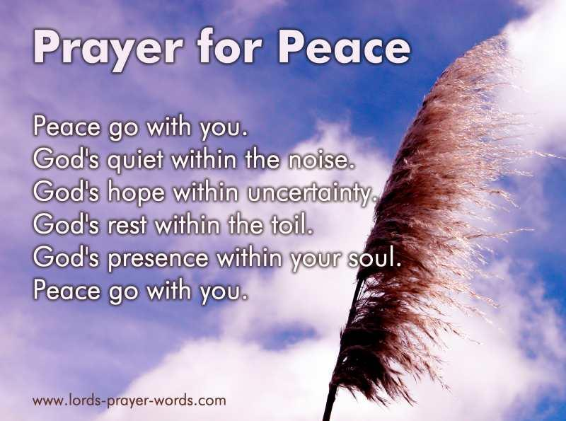 9 Prayers for Peace of Mind - receive God's peace!