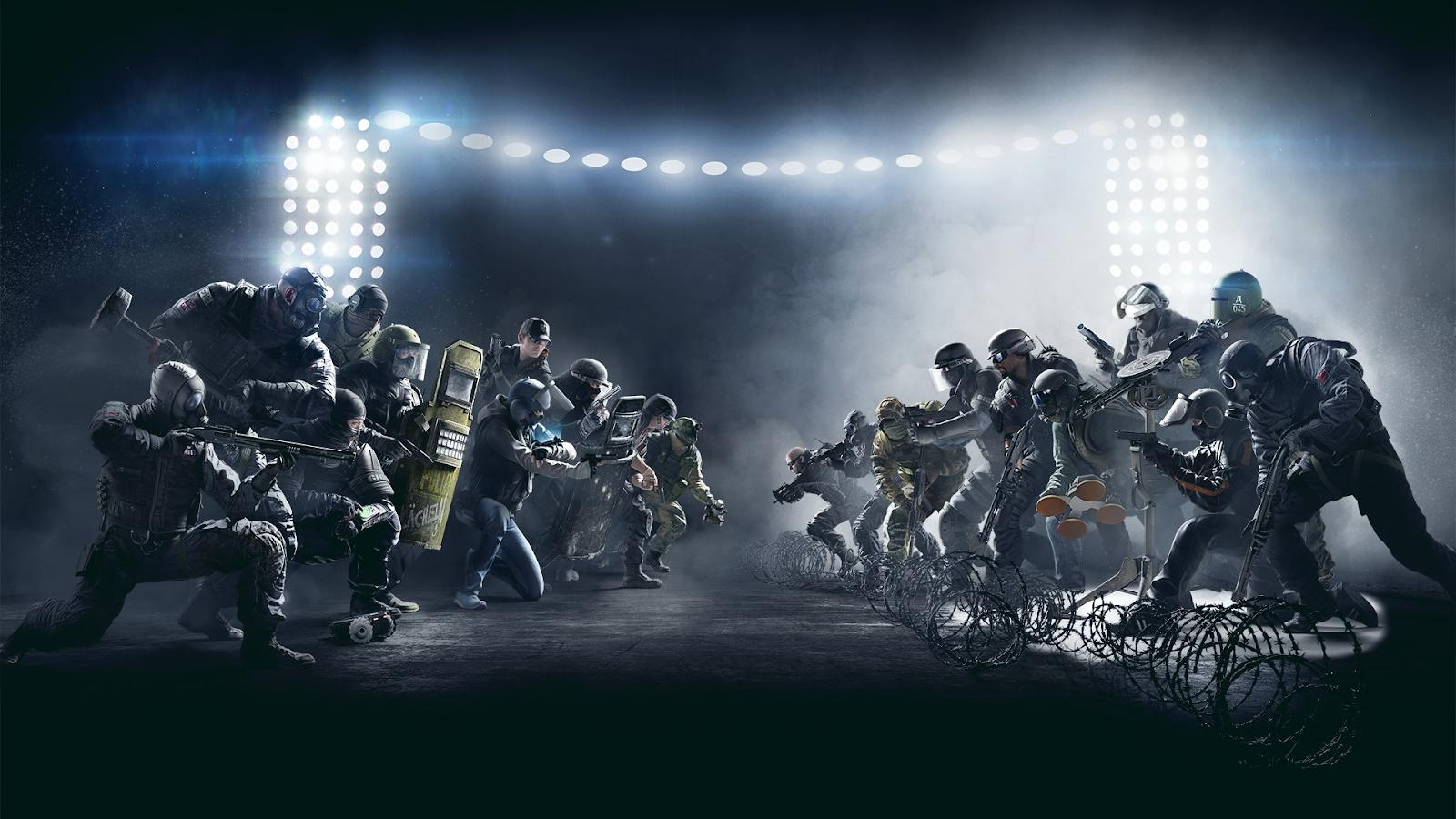 Rainbow Six: Siege là trò chơi có tinh thần đồng đội cao