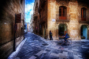 The old town centre of Lecce