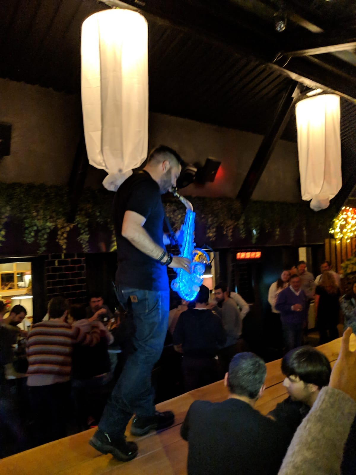 Saxofonista en M the Club