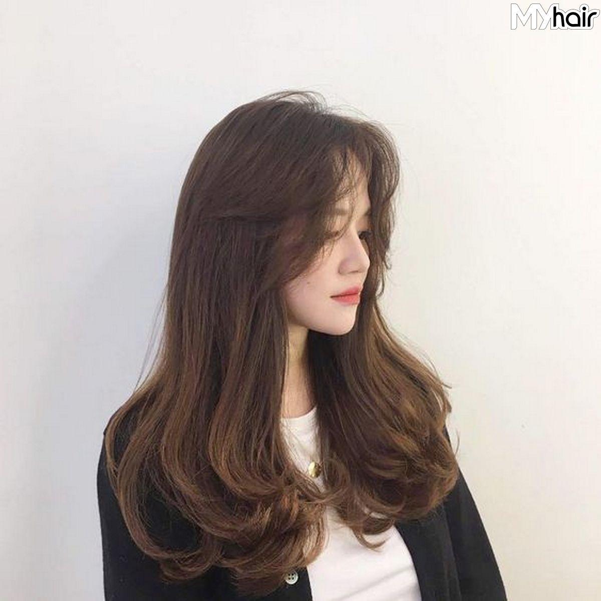 tóc uốn đuôi đẹp
