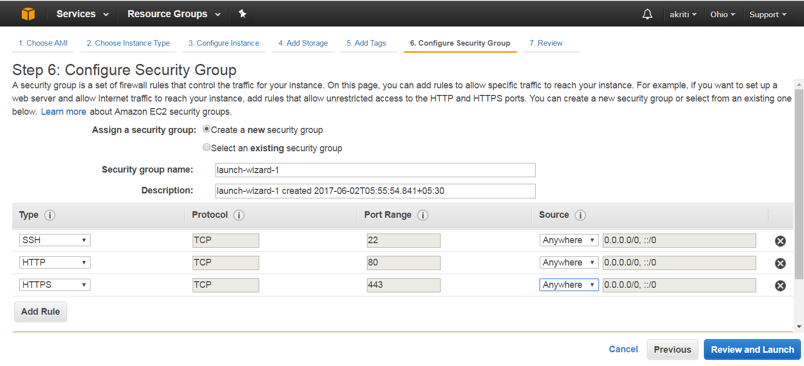 Create Virtual Machine on Amazon Web Services ( AWS ) 39