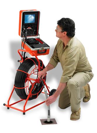 Imagem de um robô de investigação de tubulações.