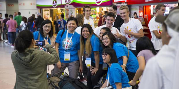 40.000 lượt đăng ký Ngày Giới trẻ Thế giới trong tuần đầu tiên
