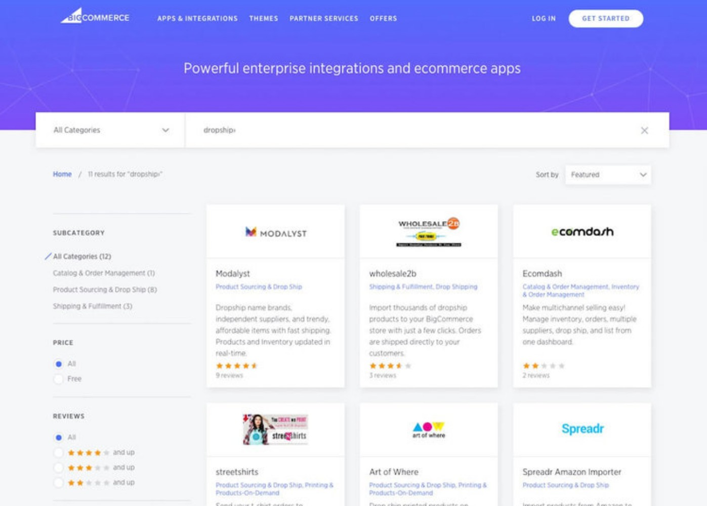 Dropshipping With Bigcommerce BigCommerce Reviews