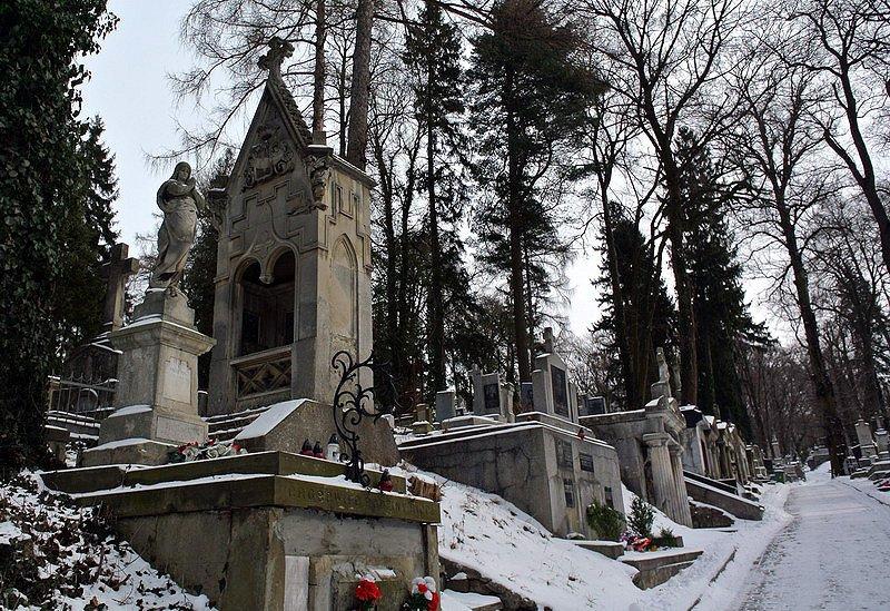 Пам'ятник на Личаківському цвинтарі у Львові