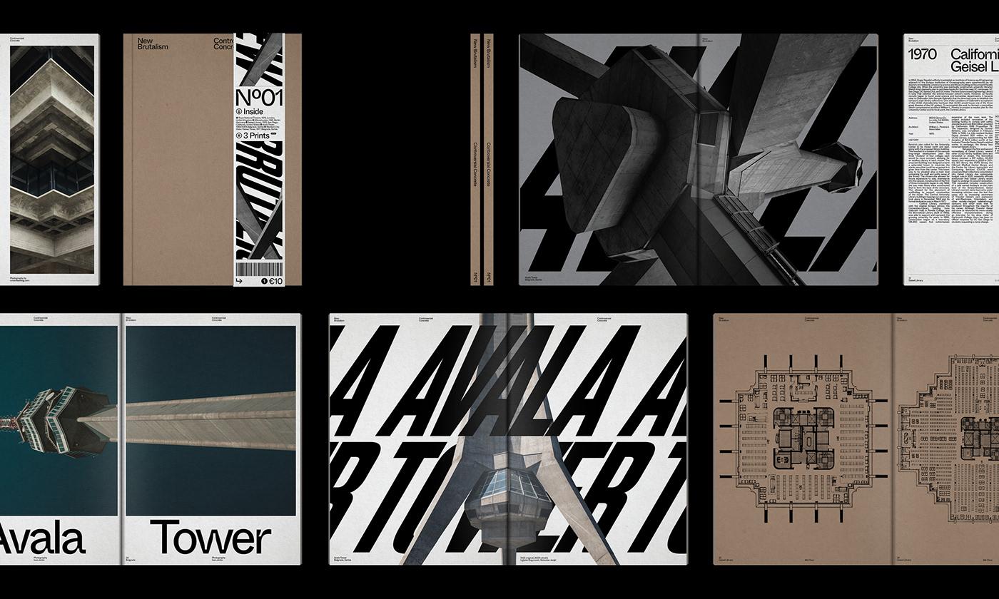 Editorial Design : New Brutalism Controversial Concrete 19