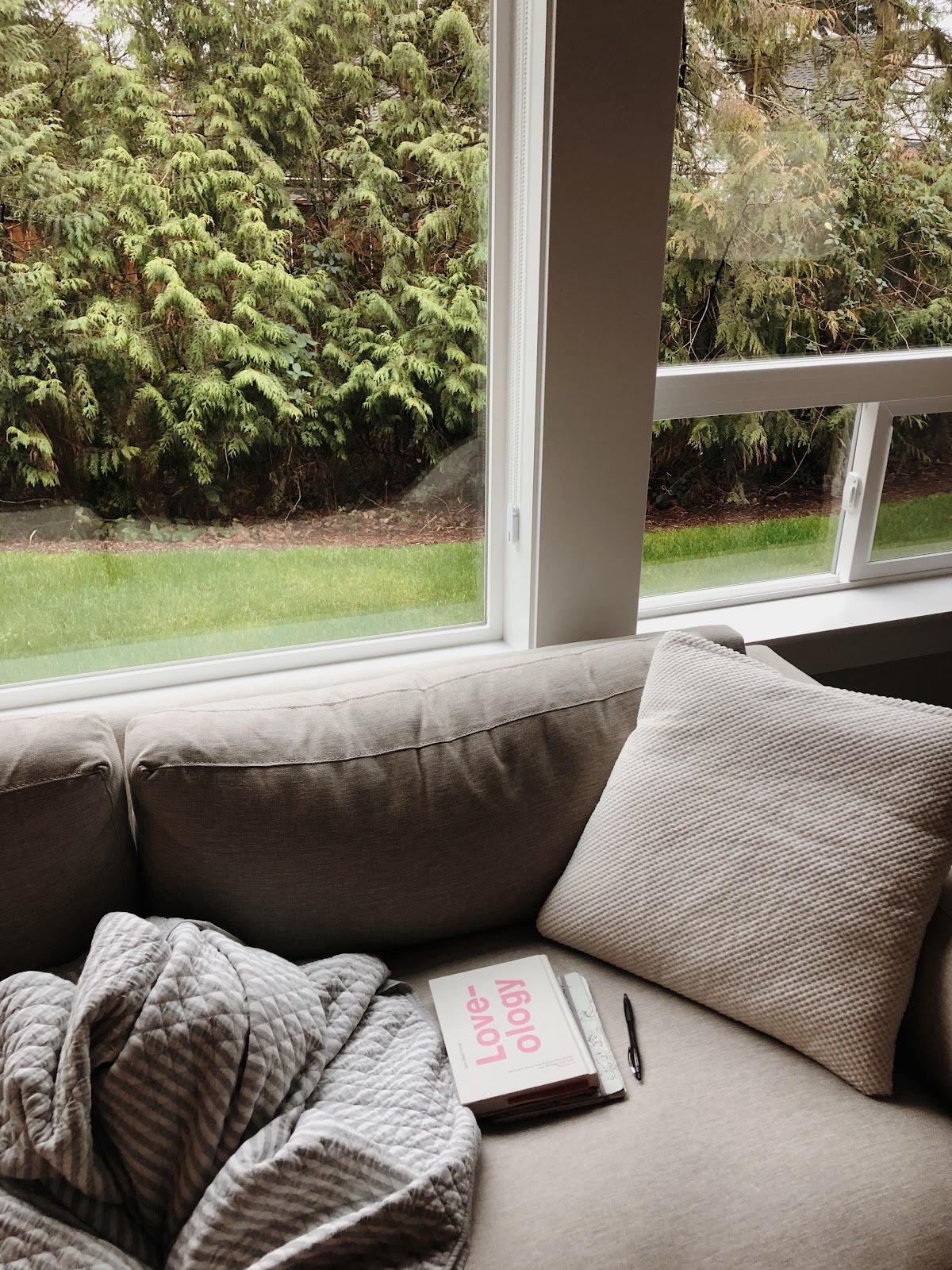 Loveology and a cozy corner