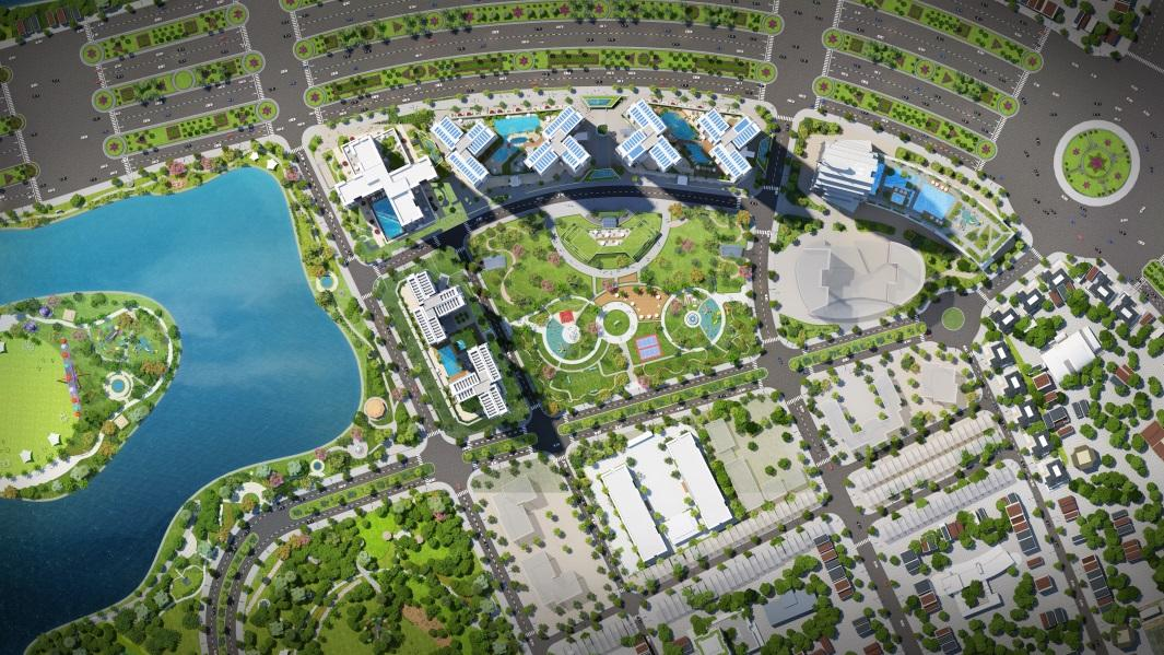 Dự án sở hữu công viên cây xanh rộng lớn