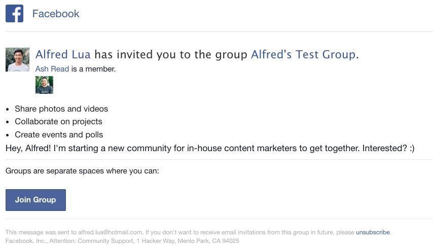 tạo group trong facebook