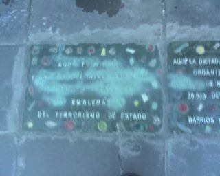 Foto de Baldosas X La Memoria Balvanera.