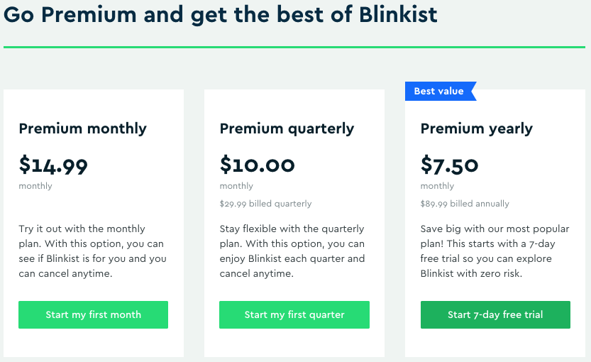 is Blinkist worth it