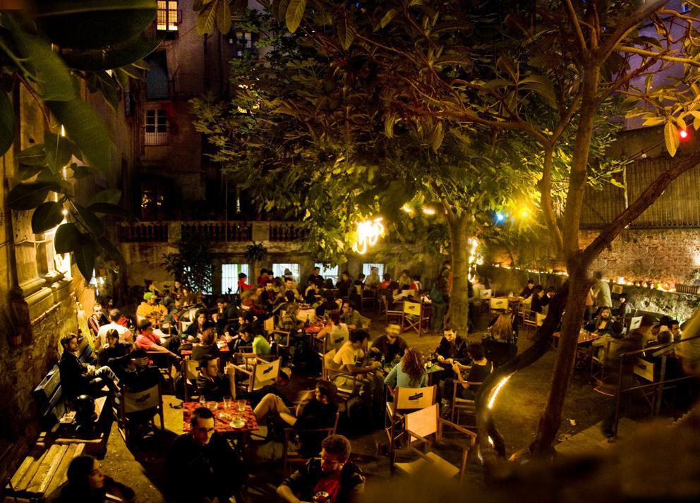 antic teatre bar terrace
