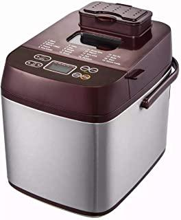 Automatic Bread Maker, Homemade Bread Machine with 19 Menu, Fruit Nut Dispenser, Nonstick Ceramic Pan, 3 Loaf Sizes & 3 Cr...