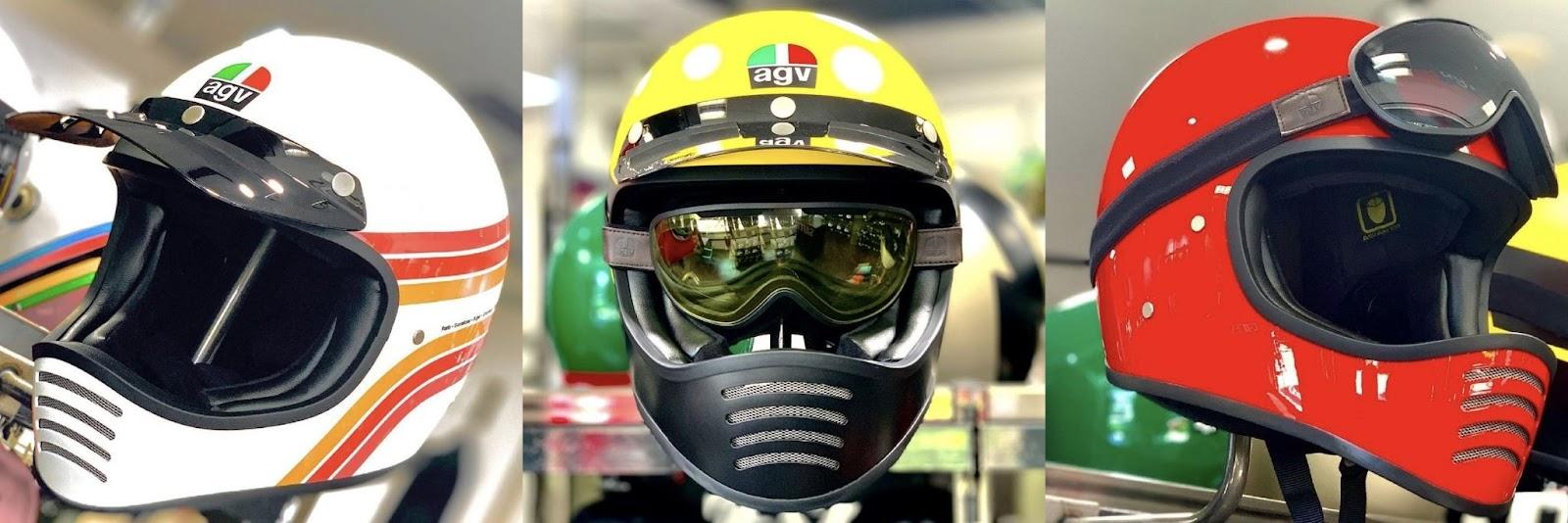 【AGV X101】70~80'sスタイルのダカールラリーヘルメット