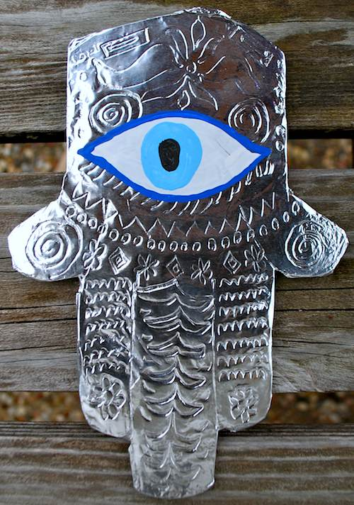 Ward Off the Evil Eye with a Hamsa Craft creative crafts  muslim / american muslim Jewish Heritage jewish Islamic Traditions education